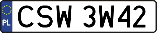 CSW3W42
