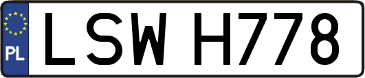 LSWH778