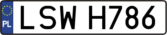LSWH786