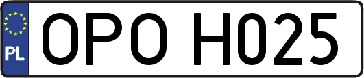 OPOH025