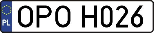 OPOH026