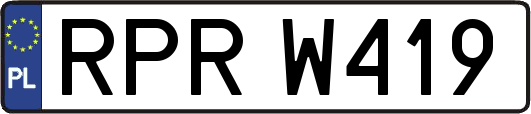 RPRW419