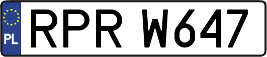 RPRW647