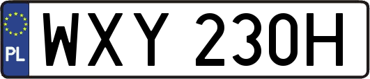 WXY230H