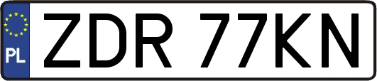 ZDR77KN